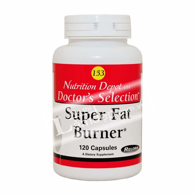 SUPER FAT BURNER – Thuốc Giảm Cân Cho Người Cao Huyết Áp