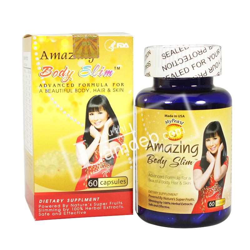 Amazing Body Slim – Thuốc Giảm Cân Hiệu Quả Nhanh Nhất – Giá: 990.000 VNĐ