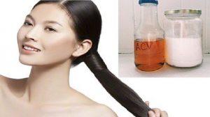 """""""Phát cuồng"""" với công thức chăm sóc tóc từ backing soda và giấm táo, không biết phí cả đời"""