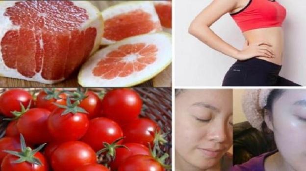 """""""Há hốc mồm"""" khi uống nước ép bưởi + cà chua, đầu tuần 50kg, cuối tuần xuống 45kg"""