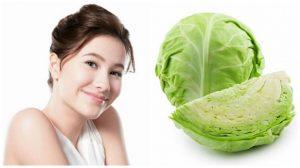 Tốt hơn uống collagen, đắp mặt nạ bắp cải da trắng, láng mịn sau 1 tuần
