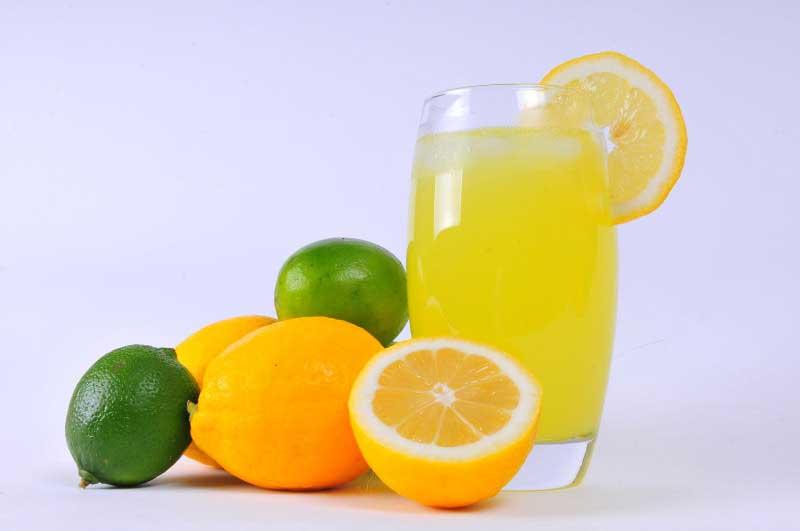 nước chanh pha cam giúp đánh tan mỡ thừa